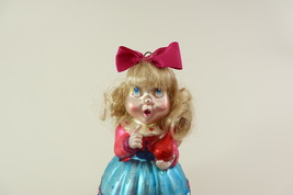 Hand Blown Glass Christmas Ornament of a little Girl  image 13