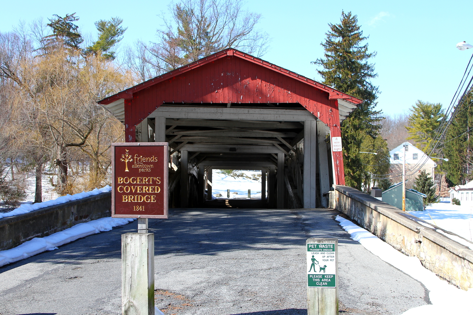 Primary image for Bogert's Covered Bridge Unmatted Photograph