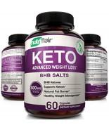 NutriFlair Keto Diet Pills - 800mg Advanced Weight Loss Ketosis Suppleme... - $96.99