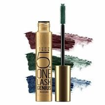 Avon 2 x Lash Genius Mascara 5 in 1 You choose Navy Aubergine Black Emerald New - $27.99