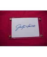 JACLYN SMITH Autographed Signed Signature Cut w/COA - 30752 - $30.00