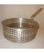 Deep Fry Punched Frying Strainer Basket Cookware Insert Only 6 Quart Alu... - $30.00