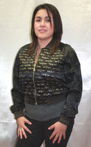 Women's Black All Over Shiny Jacket by Baby Phat - $104.30