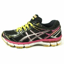 ASICS GT 2000 2 Running Shoes Womens Size 7.5 Training Sneakers Black Pink - $94.98 CAD