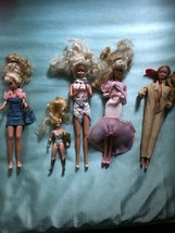 Vintage Iconic Barbie Dolls + Doll Chairs , Beauty,Accessories Lot - $40.79