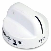 8273104 Whirlpool Stove Oven Range Knob-Surf 270 Std Wht OEM 8273104 - $21.70