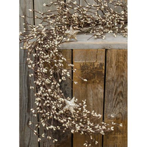 Platinum Pip Garland w/Stars 4.5ft - $29.99