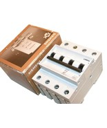UP TO 2 NEW SIEMENS 16 AMP 3 POLE CIRCUIT BREAKERS DIN MOUNT 5SX26 B16 - $49.00