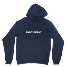 Entitlement Shirt Trump CDC Word Ban Unisex Navy Blue Hoodie Sweatshirt - $24.95+