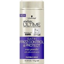 Schwarzkopf Styliste Ultime Satin Frizz Control Wax Powder, 0.72 Ounce - $4.89