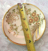 Vintage Soho china Satsuma Hand Painted Ashtray image 2