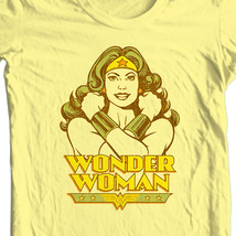 Wonder Woman T-shirt retro TV old style Silver Age free ship 100% cotton DCO185 image 1