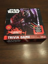 Star Wars Trivia Game Board Game Darth Vader Disney Pre-Owned Great Condition - $14.95