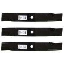"""3 Pack Blades fit John Deere 1023E 1025R 4210 4310 4410 777 797 997 60"""" Deck - $44.07"""