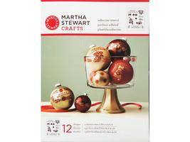 Martha Stewart Crafts Holiday Bells & Phrases Self-Adhesive Stencil #33004 image 1