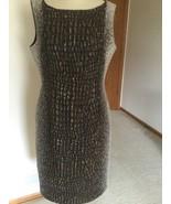 Women's Dress,Brown,Large,US Size 10,Sleeveless,Lafayette 148,NWOT - $94.05