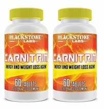 2X Blackstone Labs Carnitrim 60 Tablets Energy & Weight Loss Support - S... - $57.02