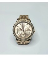 Relic Women's ZR15755 Layla Rose Gold Watch DAY/DATE **Working** - $18.57