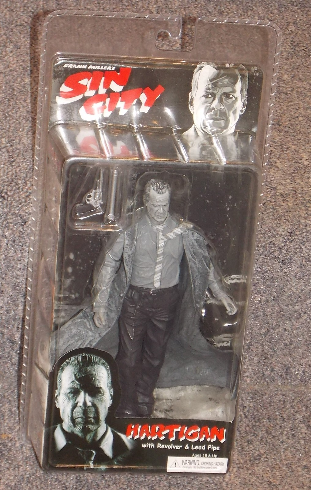 Primary image for 2005 NECA Sin City Hartigan Action Figure New In The Package