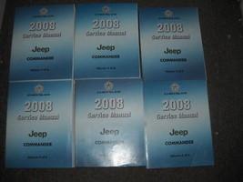 2008 Jeep Commander Servicio Taller Reparación Manual Taller Set OEM Fáb... - $59.35