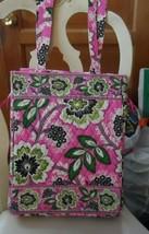 Vera Bradley laptop Travel Tote In Priscilla Pink - $45.00