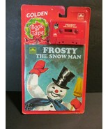Frosty the Snowman Golden Read Along Book & Cassette Tape Set Sealed Rea... - $15.84