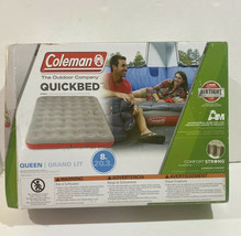 """Coleman Quickbed Airtight High Airbed Queen Grand Lot Comfort Strong 8"""" 600lb - $20.51"""
