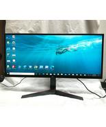 LG 34UM69G-B 34-Inch 21:9 UltraWide IPS Monitor with 1ms FreeSync Blur R... - $314.44