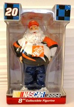 "2004 NASCAR # 20 Tony Stewart Santa Clause Home Depot 8"" Collectible Fig... - $13.81"