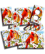 CARDINAL BIRDS MAGNOLIA FLOWERS TREE LIGHT SWITCH OUTLET WALL PLATES ROO... - $8.99+
