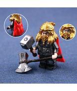 Thor (God of Thunder) Avengers Endgame Marvel Universe Custom Minifigure... - $3.99