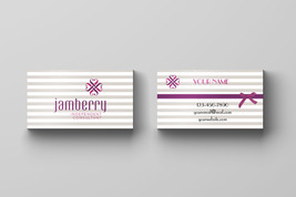 100 printed Jamberry Business Card  - $34.90
