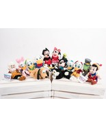 Disney Store Mini Bean Bag Plush Characters Lot of 13 Pinocchio Duck tales NWT  - $128.69