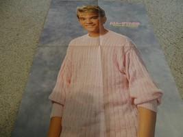 Chad Allen Johnny Depp teen magazine poster clipping pink sweater Big Bopper