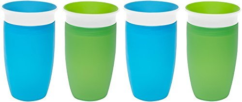 Munchkin Miracle 360 Sippy Cup - Green/Blue - 10 oz - 2 ct - 2 pk