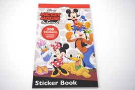 Disney Mickey Mouse & Friends Sticker Book 300 Stickers 4 Sheets - $9.80