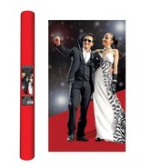 Movie Night Hollywood Themed Party Long Red Carpet Aisle Runner Decoration - $7.70