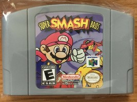 Super Smash Bros. Brothers 64 Mario N64 Nintendo 64 US SELLER Fast Shipp... - $29.69