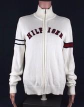 Tommy Hilfiger Damen Pullover Reißverschluss Langärmlig Baumwolle GRÖSSE M - $19.45