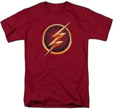 Il Flash Show Televisivo Serie Cw Super Eroe DC Comics Logo Justice League Shirt - $24.21+