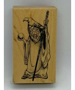 Wizard Wood Mounted Rubber Stamp E-700 PSX New - $9.60
