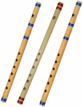 Bamboo Indian Bansuri/Flute Combo Of B+C+G Pipe - $28.88