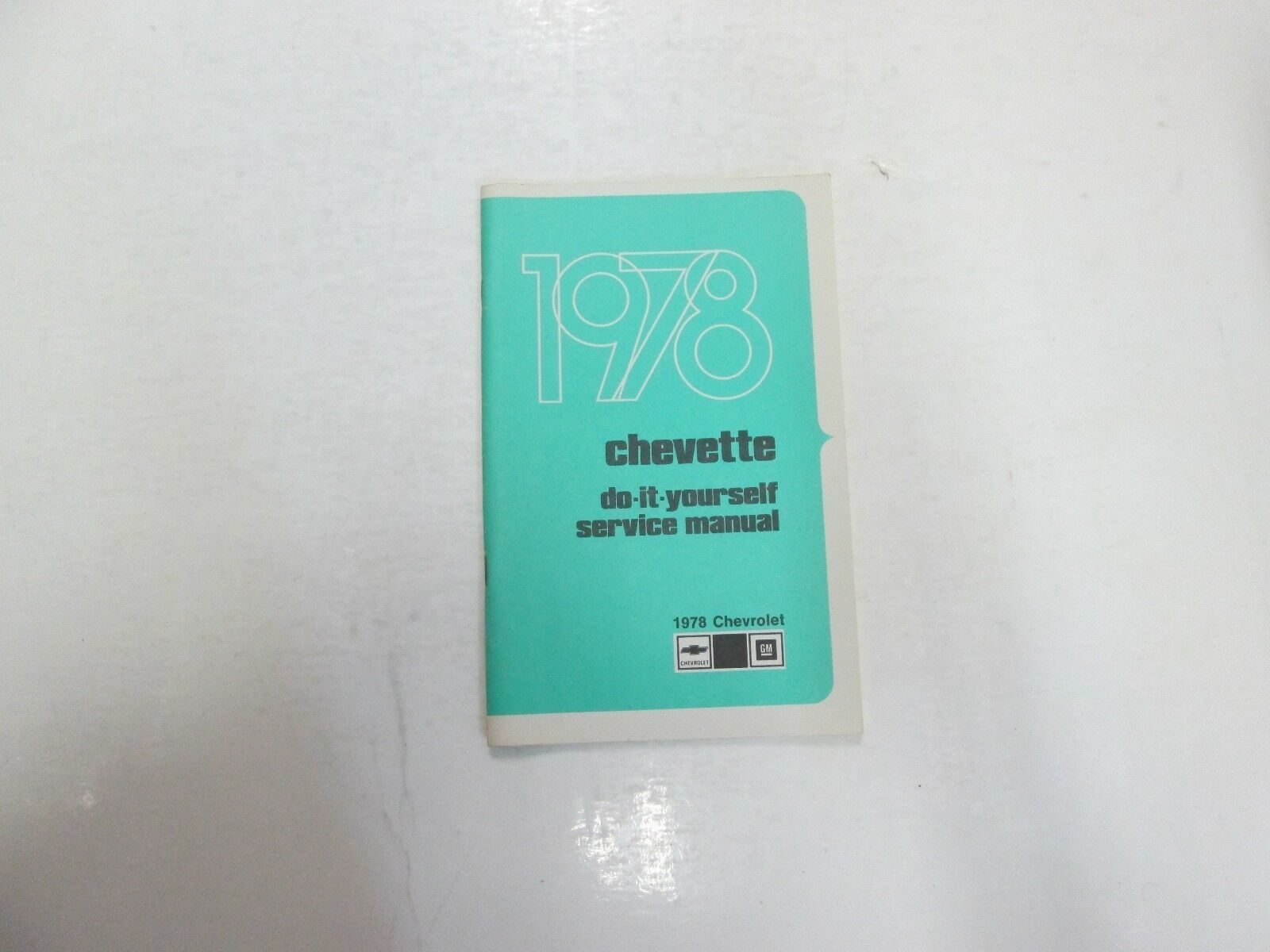 Primary image for 1978 Chevrolet Chevette Do It Yourself DIY Service Manuell Minor Flecken OEM ***