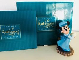 Walt Disney Minnie Mouse Mrs Cratchit Crachit Christmas Ornament WDCC CO... - $38.69