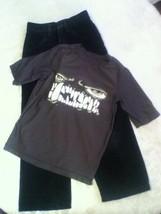 Size 6 7 Old Navy 2 piece set monster shirt Size 7 Slim Toughskins jeans... - $16.99