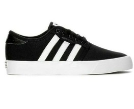adidas Seeley Black White BY3838 GS Skate Junior Kids Sneakers - $42.95