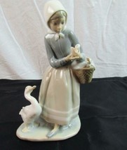 LLARDO Figurine Girl with Ducklings E-21 M  - $84.00