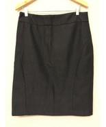 BANANA REPUBLIC Womens 14 Seasonless Wool Pencil Skirt Gray - $19.79