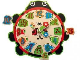 TEOREMA Théorème 40527 – Horloge didactique en Bois  - $42.60