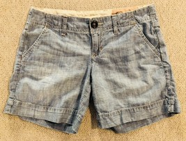 1969 Gap Jeans Limited Edition Chambray Shorts Size 1 Juniors  - $15.23